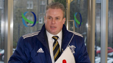 Livingston chief executive Ged Nixon.