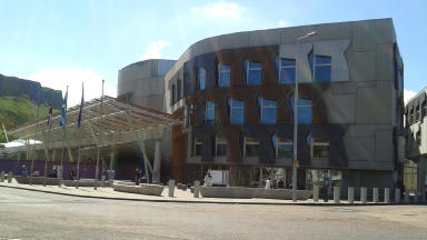 Scottish parliament.