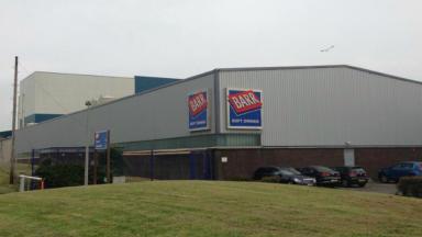 AG Barr factory in Cumbernauld