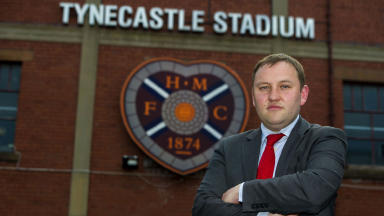 Labour MP and Hearts supporters chief Ian Murray speaks to the press about his clubs current situation.