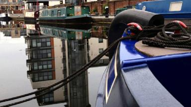 All aboard: city centre canal moorings about to go up for auction.