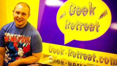 Stephen Walsh: owner of Geek Retreat talks about upcoming Halloween Comic Fest