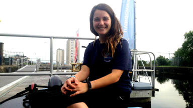 High adventure: Katherine Dunlop shares her story of high adventure on the Pacific Ocean.