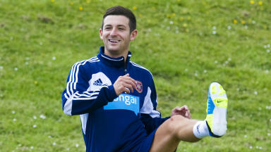 Jason Holt, Hearts, June 2013.