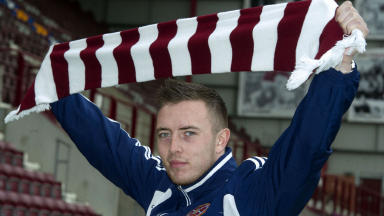 Danny Wilson, hearts, May 2013.