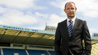 Kilmarnock manager Allan Johnston.