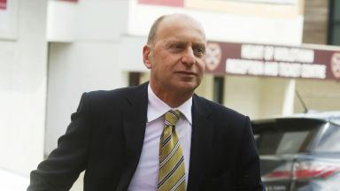 Bryan Jackson, BDO administrator of Hearts, June 2013.