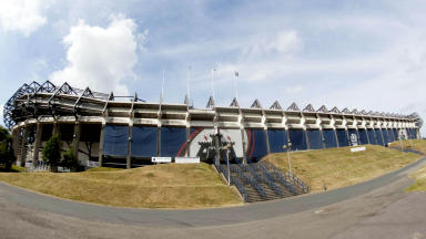 Murrayfield, Edinburgh Rugby.