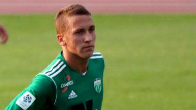 Levadia Tallinn striker Artur Rattel.