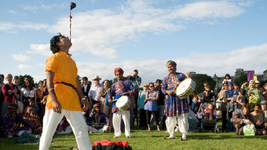 Edinburgh Mela: The event has been part of the city's festival programme for 20 years.