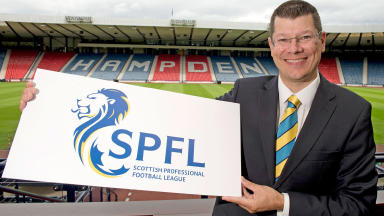Neil Doncaster, chief executive of the new SPFL brand.