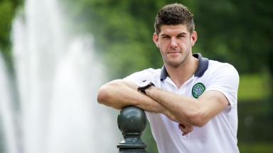 Fraser Forster, Celtic, August 2013.