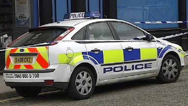 Police car generic.