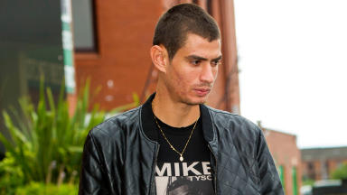 Celtic target Nir Biton leaves Celtic Park after signing talks with the club