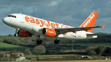 Easyjet: The airline has launched an investigation into the claims (file pic).
