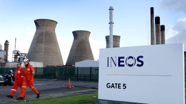 Ineos: Scottish Government created 'uncertain environment'.