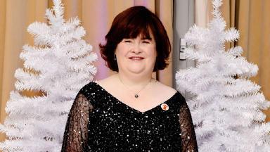 Susan Boyle talks about Christmas single: O Come, All Ye Faithful - duet with Elvis