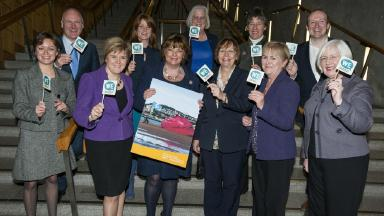 All Scottish MSPs have backed Dundee's City of Culture Big