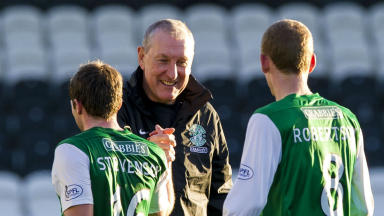 Terry Butcher, Hibs, November 2013.