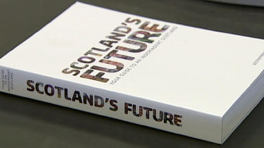 Independence referendum White Paper close