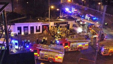 Police helicopter crashed into The Clutha pub in Glasgow's Stockwell Street in November 2013, killing nine.