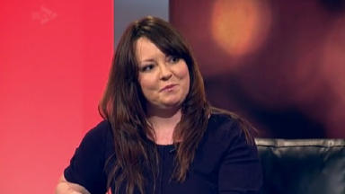 Natalie McGarry, SNP candidate for Cowdenbeath.