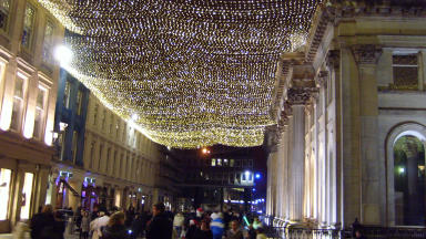 Glasgow Christmas lights