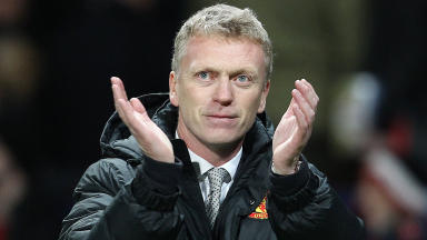 David Moyes, Manchester United manager.