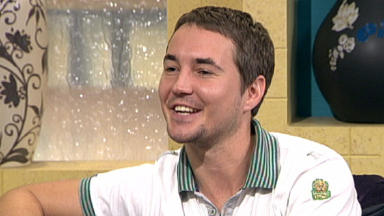 Sweet Sixteen: Martin Compston has endured a remarkable rise to fame since starring as 'ned' Liam in Sweet Sixteen.