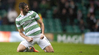 Joe Ledley scored the winner in Celtic's 1-0 win over Partick Thistle on Saturday.