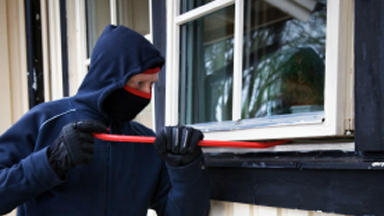 Break-ins: Homes targeted overnight on Wednesday and Thursday (file pic).