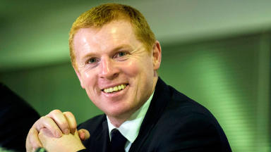 Celtic manager Neil Lennon in January 2014.