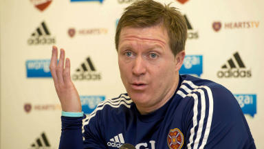 Gary Locke, Hearts, January 2014.
