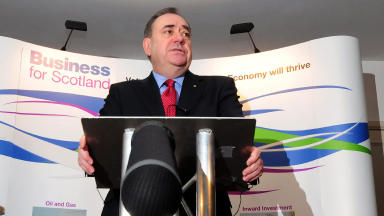 Alex Salmond, speaking at Business for Scotland event in Aberdeen on 17/02/2014.