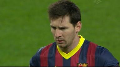 Lionel Messi against Man City.