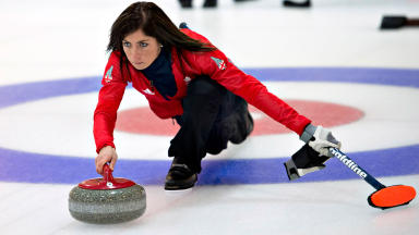 Eve Muirhead: Led all-Scottish British women's team in Sochi.