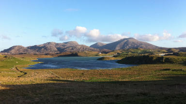 Isle of Lewis in Western Isles scenic tourist quality image