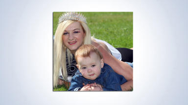 Amanda Hardie: The mother was jailed over the death of her son, Clyde.