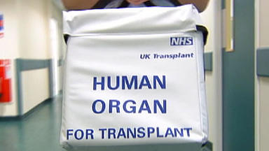 Organ donation: Lanarkshire patients can now register while waiting for hospital appointment.