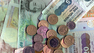 Money: The currency will replace pound sterling in Portobello shops.