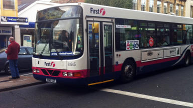 All change: First Bus have announced service amendments.