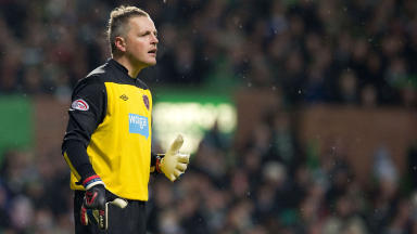 Hearts keeper Marian Kello.
