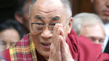 His Holiness The Dalai Lama will visit Edinburgh, Dundee and Inverness