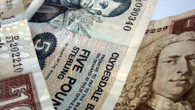 Banknotes, cash, money, notes, finance, currency, clydesdale bank, mortgage Creative Commons quality image from Flickr
