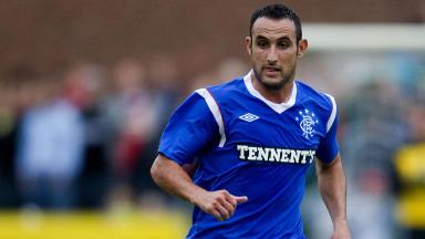Rangers midfielder Juan Manuel Ortiz.