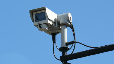 CCTV: Operatives in Glasgow to strike over a pay dispute. (file pic)