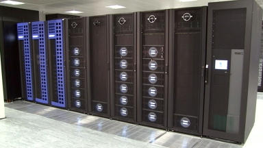Archer supercomputer at the University of Edinburgh March 25 2014