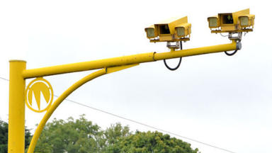 Speed cameras: A9 scheme has proven controversial (file pic).