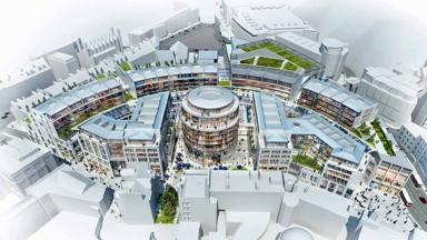 St James development announced on April 29, 2014. PR image from City of Edinburgh Council