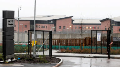 HMP Grampian: Jail extensively damaged after alleged riot (file pic).